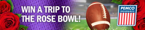 Enter to win a trip to see the Huskies play in the Rose Bowl!