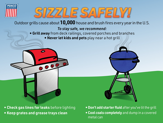 Read more about the article Sizzle Safely!