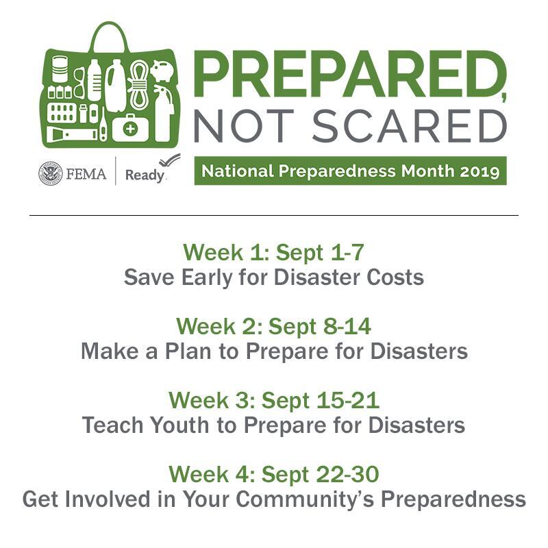 Read more about the article September is National Preparedness Month