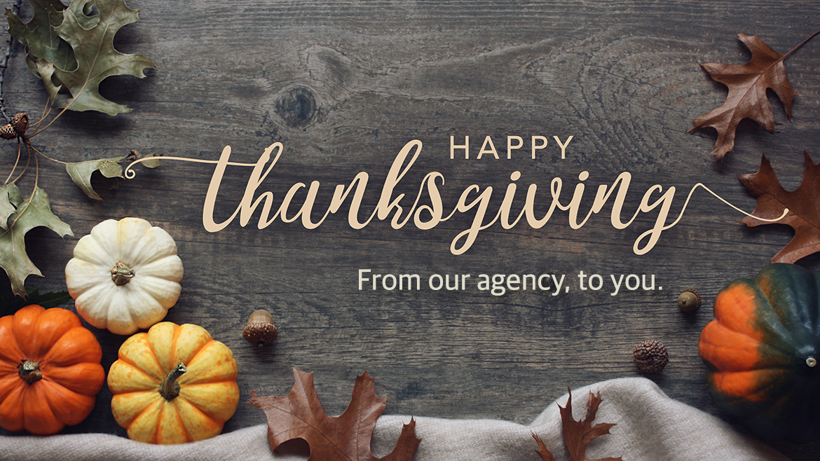 Read more about the article Happy Thanksgiving!